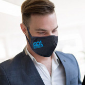 3-Ply 3D Cotton Mask With Adjustable Earloop (One Color)