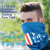 Full Color Sublimation Cooling Face Tube