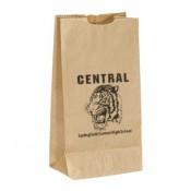 "Popcorn Bags - Brown (4.75"" x 8.75"" x 3"")"