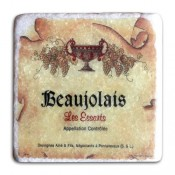 Sparkling Marble Coasters