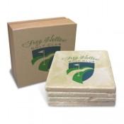 Stone Coasters - Boxed Set of 4
