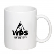 11 oz. ValueLine White C-Handle Coffee Mugs