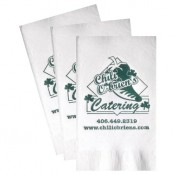 White Dinner Napkins (Recycled 3-Ply - Large Quantities)